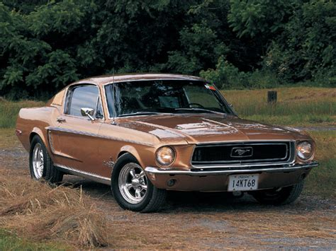 vintage mustang cars once junker 1968 ford mustang fastback is now a trophy car