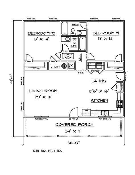 house plans   sq ft  bedroom  bath house ebay
