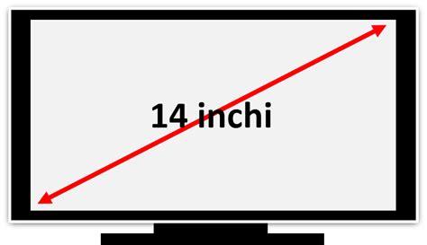 Tv Lcd Ukuran 14 bagaimana sih cara menentukan ukuran 14 17 atau 21 inchi suatu televisi measuring size of a