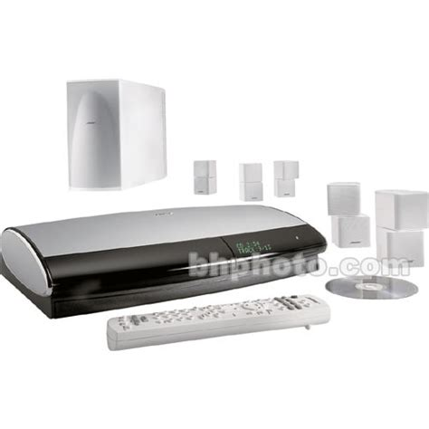 bose lifestyle 48 home theater system white 34804 b h photo