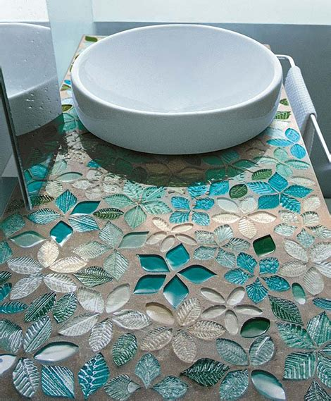 unique tile modern mosaic tiles by vetrovivo amazingly unique and