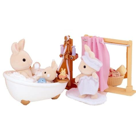 bath shower set sylvanian families bath shower set from who what why