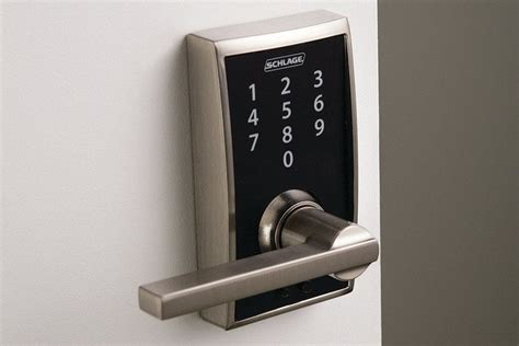 schlage touch electronic lock jlc  doors exteriors