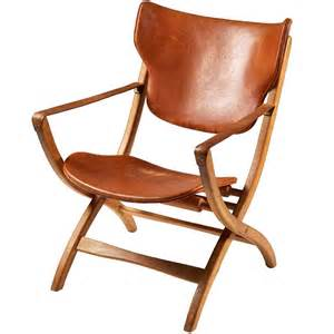 folding armchair chair designed by poul
