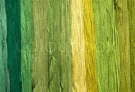 green shades yarn background in shades of green stock photo colourbox
