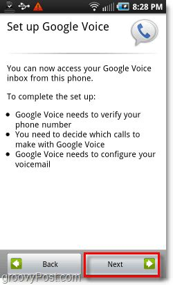 how to setup voice on android how to set up voice on your android phone