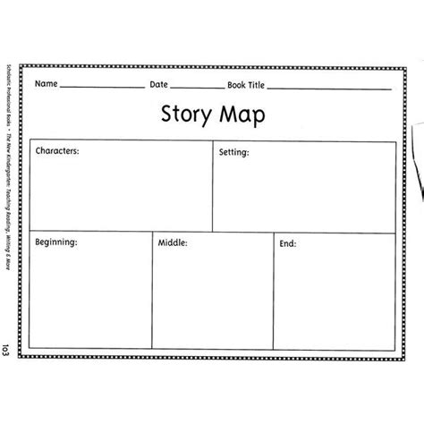 story setting template story map template graphic organizers