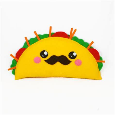 imagenes de tacos kawaii taco kawaii plushie plush toy novelty humor cushion by