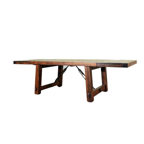 benchmark bench benchmark trestle table home envy furnishings solid