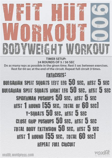 voxifit hiit bodyweight workout 006 voxifit