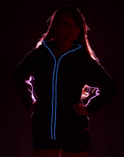 Hoodie Neon led hoodie neon blue led t shirts get a led de