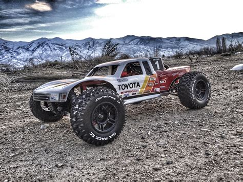baja truck racing axial racing exo terra trophy truck by richard derry