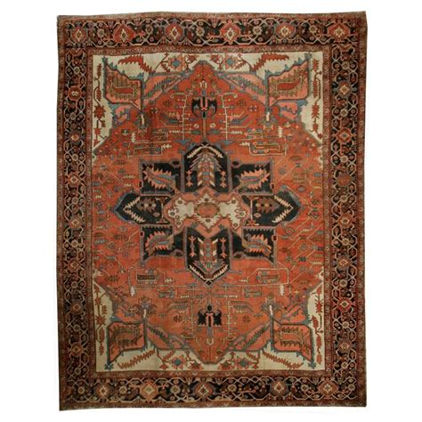 Antique Persian Serapi Rug For Sale At 1stdibs Antique Rugs For Sale