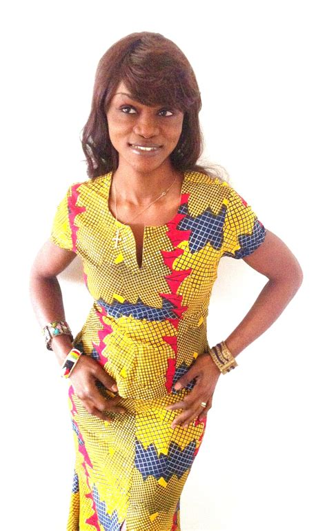 Model Pagne Africain