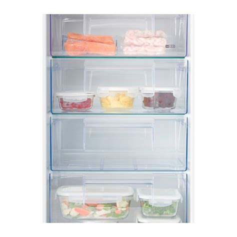 Integrated Freezer Drawers by Djupfrysa Integrated Freezer A White 98 L