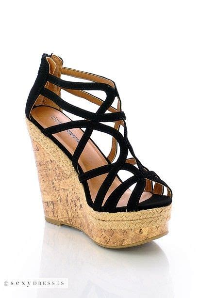 Wedged Sandals 17 best ideas about wedge sandals on black
