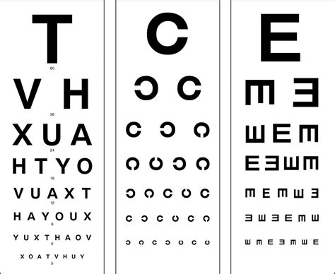 vision test essential steps in patient s eye examination