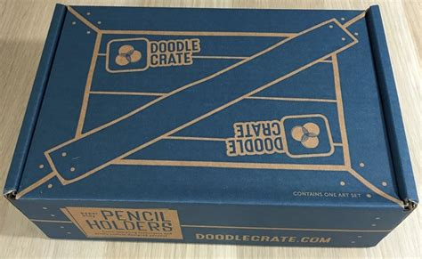 doodle crate doodle crate subscription box review coupon feb 2016