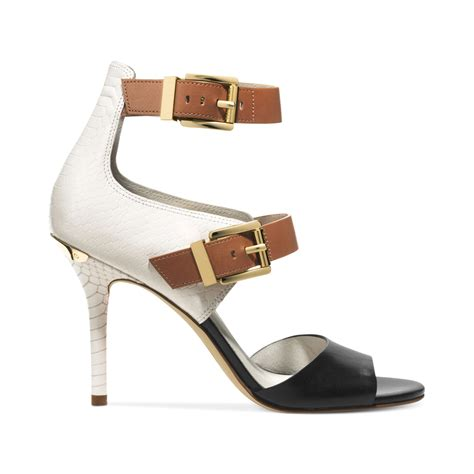 michael kors ankle sandals michael kors michael ankle sandals in white