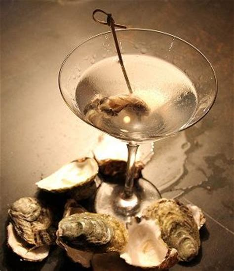Oyster Martini Is Delicious And Very Easy To Make Mixed