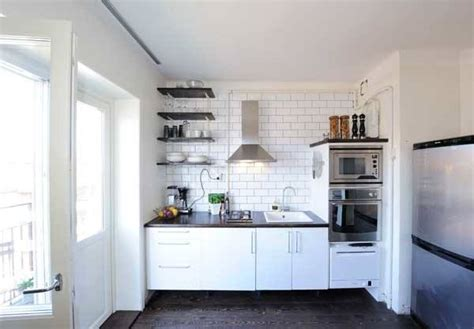 ideas for small apartment kitchens 20 spacious small kitchen ideas