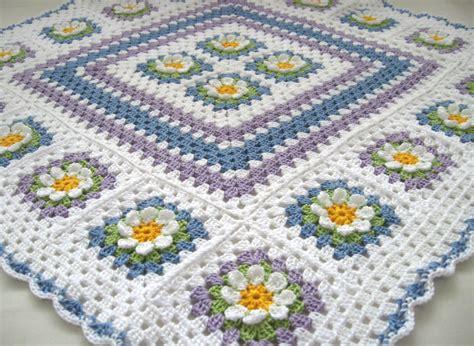 crochet pattern flower afghan crochet afghan squares crochet crochet cotton baby 1st