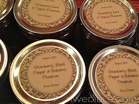 How To Martha Up Your Jam Labels For Nearly Free In About 5 Minutes Northwest Edible Life Avery Canning Jar Label Template