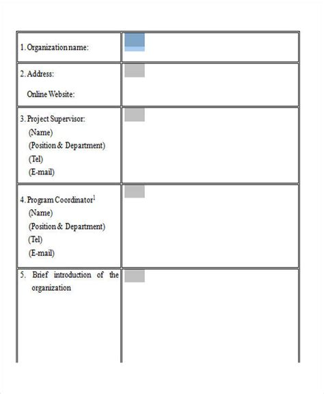 blank survey template 37 survey forms in word sle templates