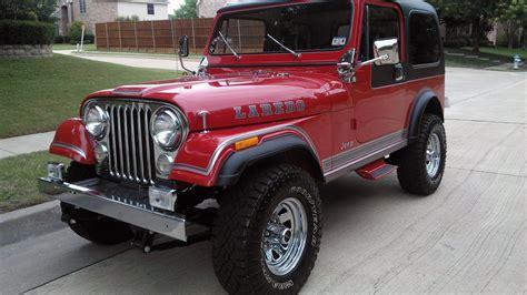 jeep cj5 laredo 1983 jeep cj 7 laredo f38 dallas 2016