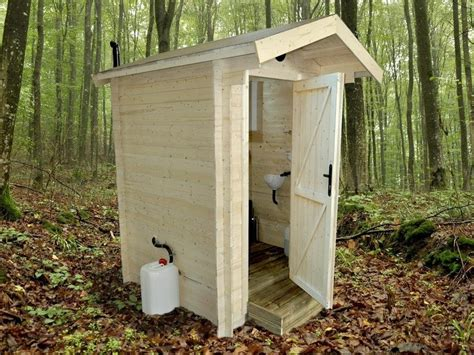 Outdoor Toilet Shed by World Toilet Day Dunster House