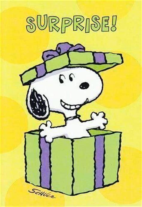 imagenes de happy birthday sylvia snoopy surprise happy birthday pinterest gifts