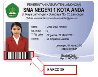 membuat barcode kartu nama download program kartu siswa barcode