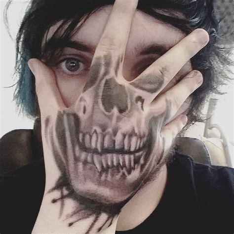 skull face tattoo skull by hoodlumscrafty on deviantart
