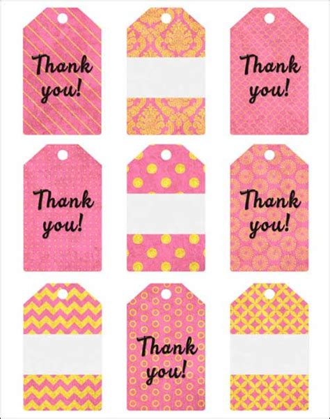 printable gift tags gold free printable card designs plus gift tags in pink and gold