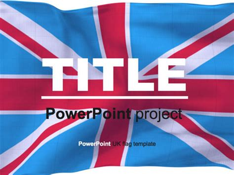 British Flag Powerpoint Template Microsoft Powerpoint Templates Uk