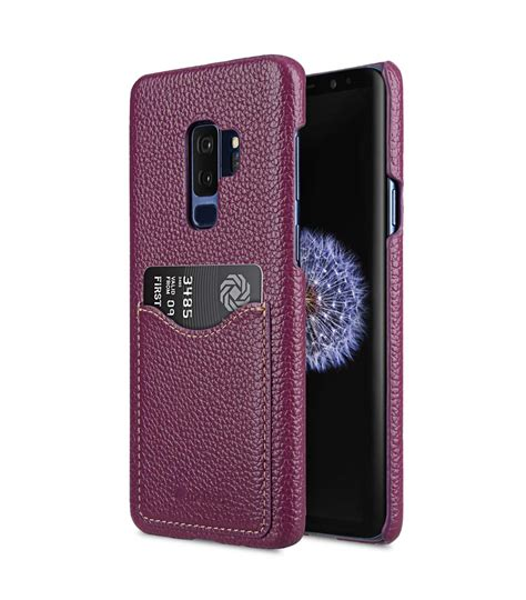 2 Samsung Galaxy S9 Premium Leather Card Slot Back For Samsung Galaxy S9 Plus Black Ver 2 Ukeyy
