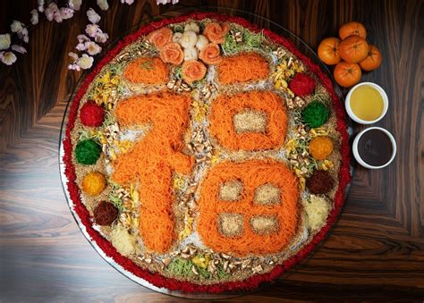 new year 2018 food singapore 7 luxurious yu sheng platters for new year 2018 in