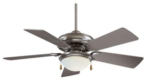 supra 44 ceiling fan with light by minka aire fans