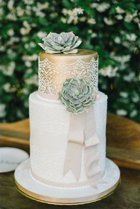 17 Best ideas about Succulent Wedding Cakes on Pinterest
