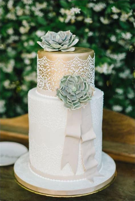 17 Best ideas about Succulent Wedding Cakes on Pinterest