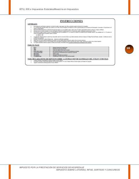 impuesto por la prestacin de servicios de hospedaje impuesto por la prestaci 211 n de servicios de hospedaje
