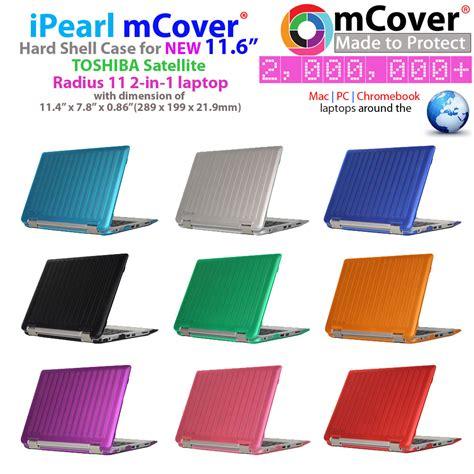 Garskin Cover Laptop 10 Inc new mcover 174 for 11 6 quot toshiba satellite radius