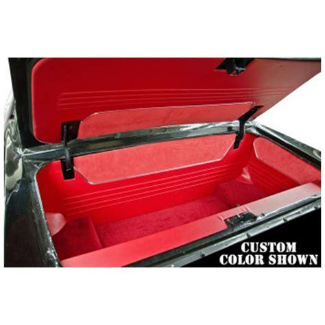 1968 mustang trunk parts classic car interior