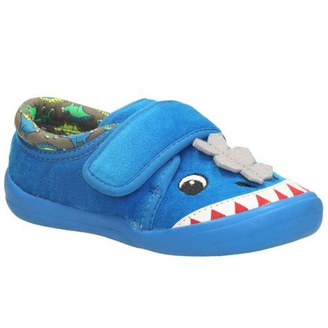clarks infant slippers clarks cuba elmo boys dinosaur slippers charles clinkard