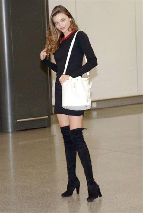 Dress Hongkong Mini Dress Dress Wanita miranda kerr in black mini dress 01 gotceleb