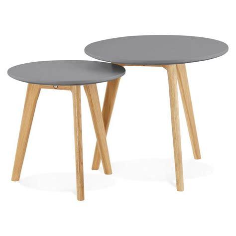 Tables Gigognes En Bois 4514 by Table Gigogne Bois Massif Wraste