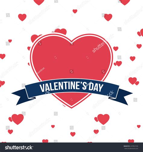 valentines day card design hearts vector stock vector valentines day background hearts greeting card stock
