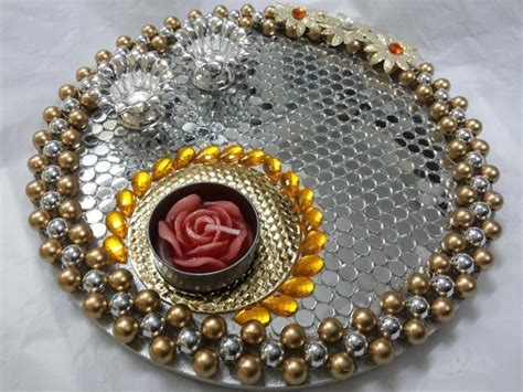 17 Best images about Rangoli, decorated candel tray etc