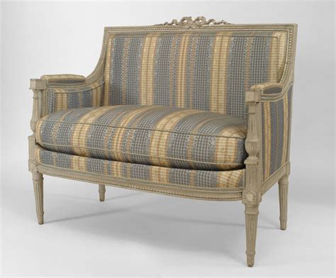 french style loveseat pair of early mid 19th century french louis xvi style