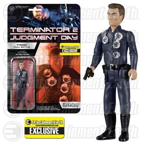 terminator 2 figures terminator 2 reaction figures from funko sci fi